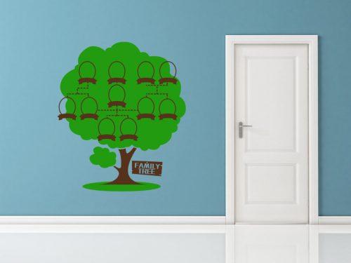 11 képes családfa falmatrica táblával 4