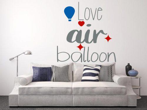 I love hőlégballonos falmatrica 1