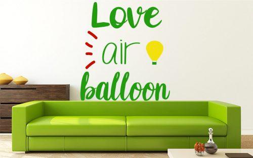 I love hőlégballonos falmatrica 2 1