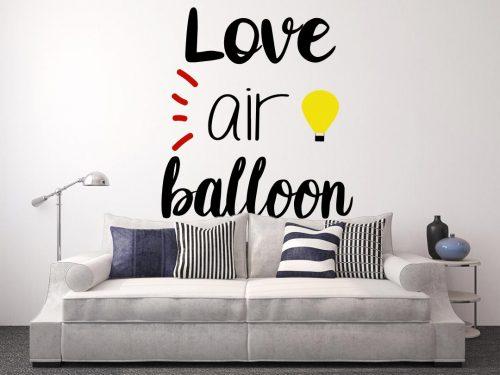 I love hőlégballonos falmatrica 2 2