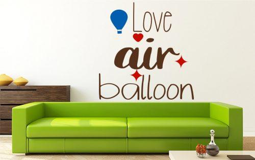 I love hőlégballonos falmatrica 3