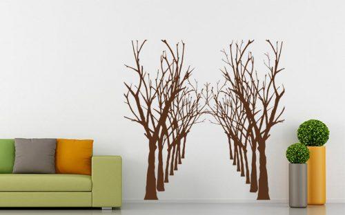 akácfa erdő falmatrica 1