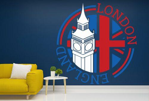 Anglia london város falmatrica 2