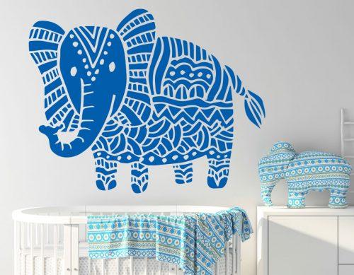 babaszoba falmatrica állatos elefánt 5