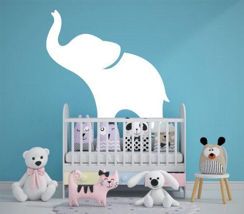 babaszoba falmatrica állatos kiselefánt 1