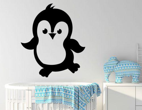 babaszoba falmatrica cuki pingvin 5