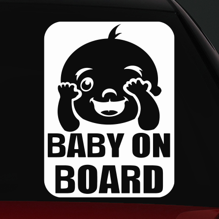 baby on board matrica 2