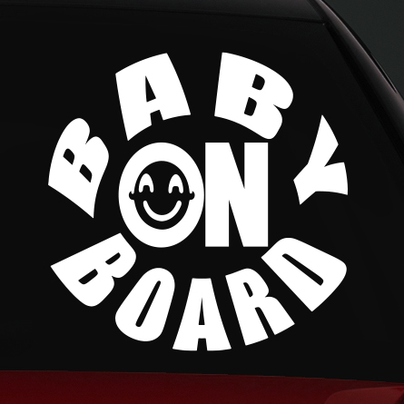 baby on board matrica 3