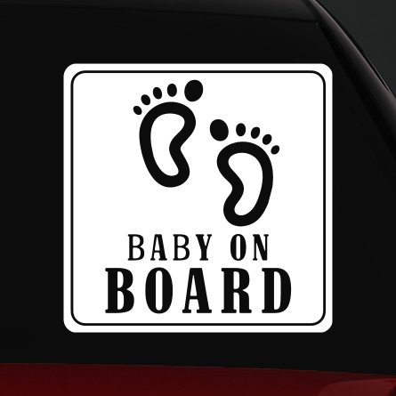 baby on board matrica 4