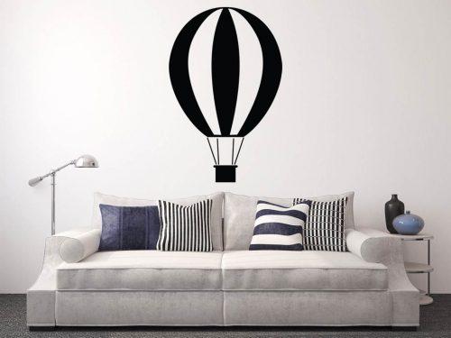 egyszerű nagyszerű hőlégballonos falmatrica 2 2