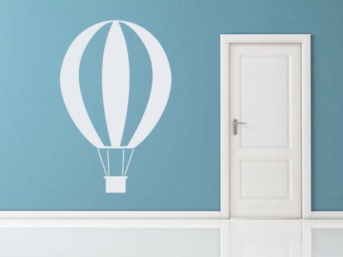 egyszerű nagyszerű hőlégballonos falmatrica 2 5