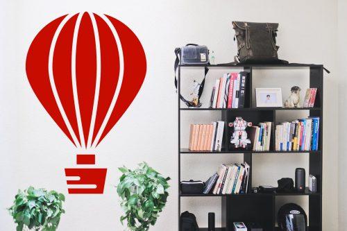 egyszerű nagyszerű hőlégballonos falmatrica 4 4