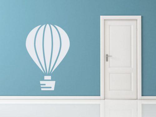 egyszerű nagyszerű hőlégballonos falmatrica 4 5