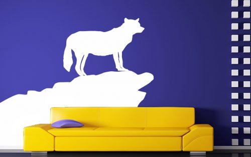 farkasos falmatrica állatos sziklán 2