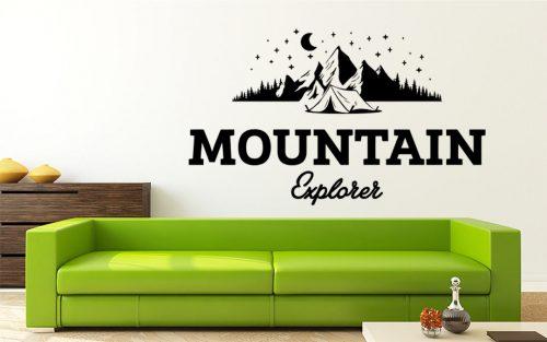 felfedező hegy falmatrica 4
