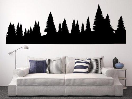 fenyő erdő falmatrica 2 3