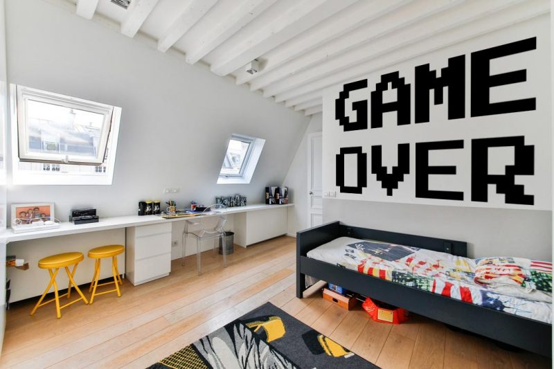 game over falmatrica 4