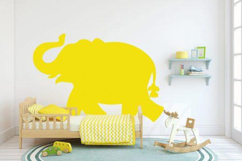 gyerekszoba falmatrica állatos elefánt 2 2