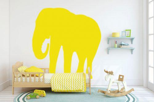 gyerekszoba falmatrica állatos elefánt 3 1