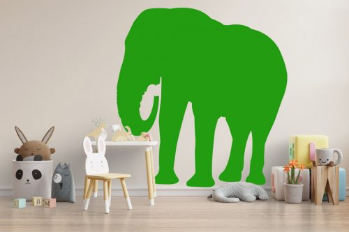 gyerekszoba falmatrica állatos elefánt 3 4