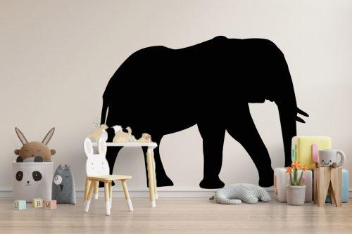 gyerekszoba falmatrica állatos elefánt 5