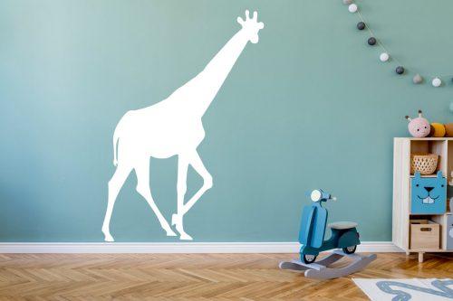 gyerekszoba falmatrica állatos zsiráf 1