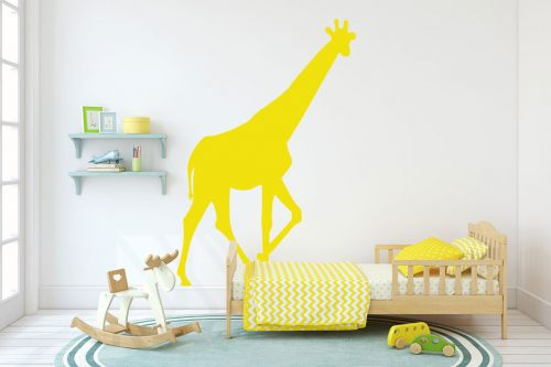 gyerekszoba falmatrica állatos zsiráf 2
