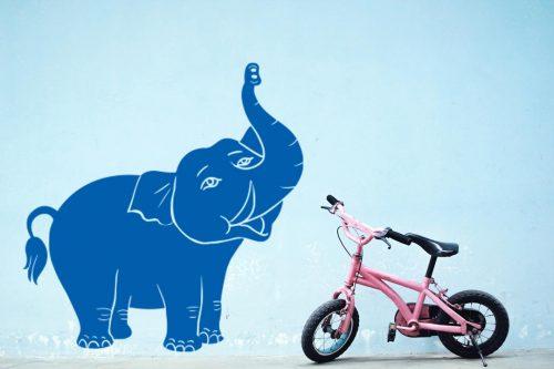 gyerekszoba falmatrica elefánt 4 1