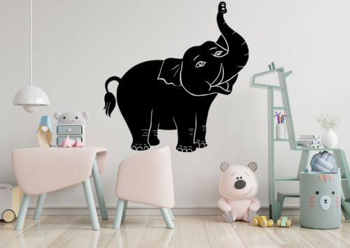 gyerekszoba falmatrica elefánt 4 5