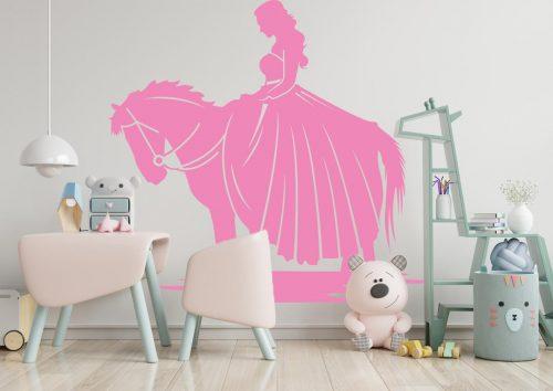 hercegnős falmatrica lovas 1