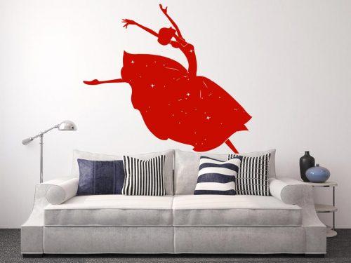 hercegnős falmatrica táncoló 3