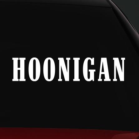 hoonigan autó matrica 2