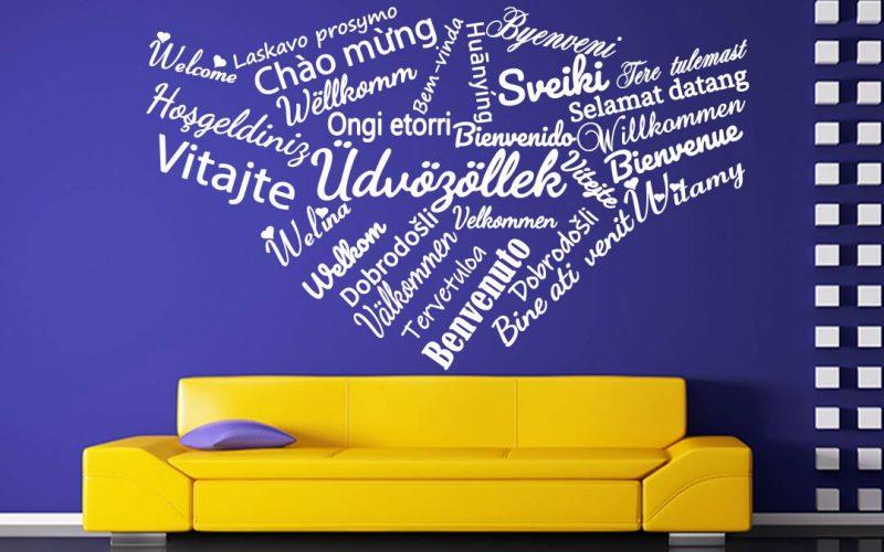 idézetes falmatrica üdvözöllek más nyelveken 1