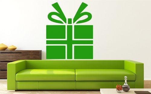 karácsonyi falmatrica ajándékdoboz 1
