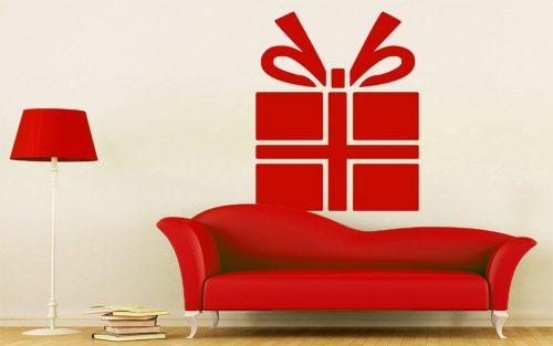 karácsonyi falmatrica ajándékdoboz 3