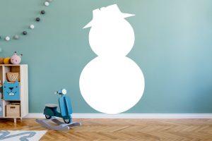 karácsonyi falmatrica hóember 3