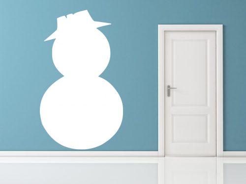 karácsonyi falmatrica hóember 5