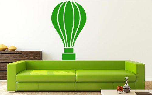 karcsú hőlégballonos falmatrica 1