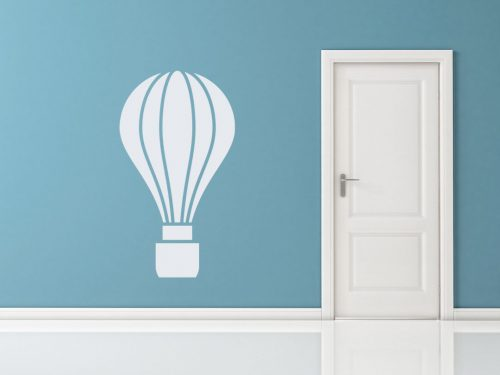 karcsú hőlégballonos falmatrica 5