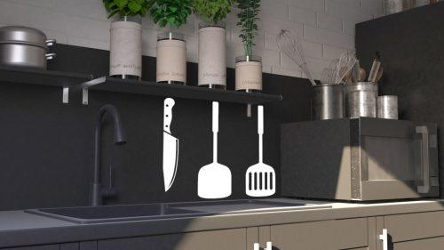 konyhai falmatrica evőeszközök 3 4