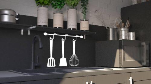 konyhai falmatrica evőeszközök 5