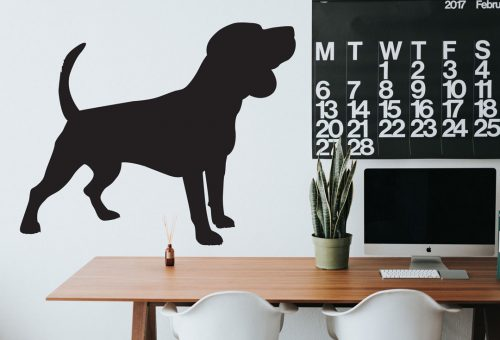 kutyás falmatrica állatos beagle 4