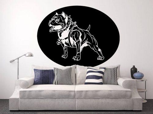 kutyás falmatrica állatos pitbull 3
