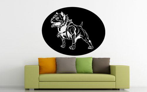 kutyás falmatrica állatos pitbull 5