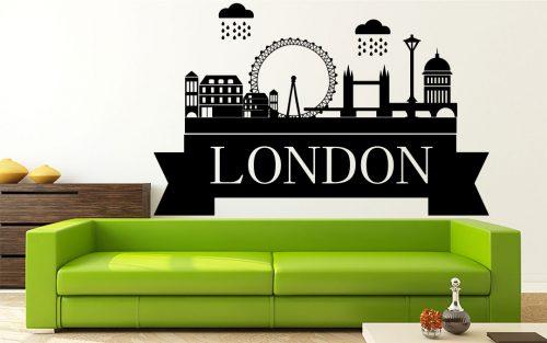 London város falmatrica 4 1