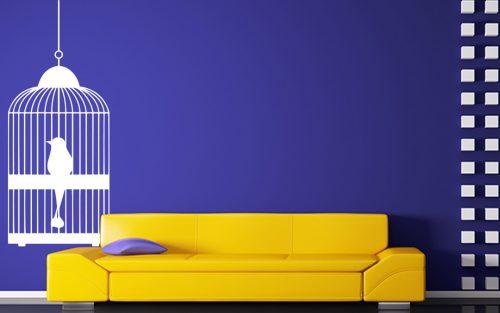 madaras falmatrica papagáj kalitkában 1 2