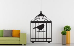 madaras falmatrica papagáj kalitkában 2 1