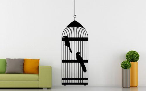 madaras falmatrica papagáj kalitkában 4 1