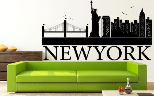 new york város falmatrica 2 1