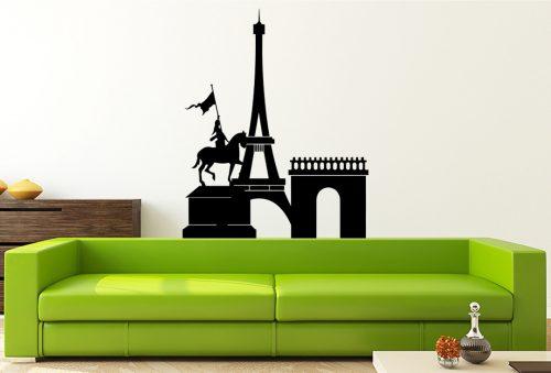 Párizs város falmatrica 1 1